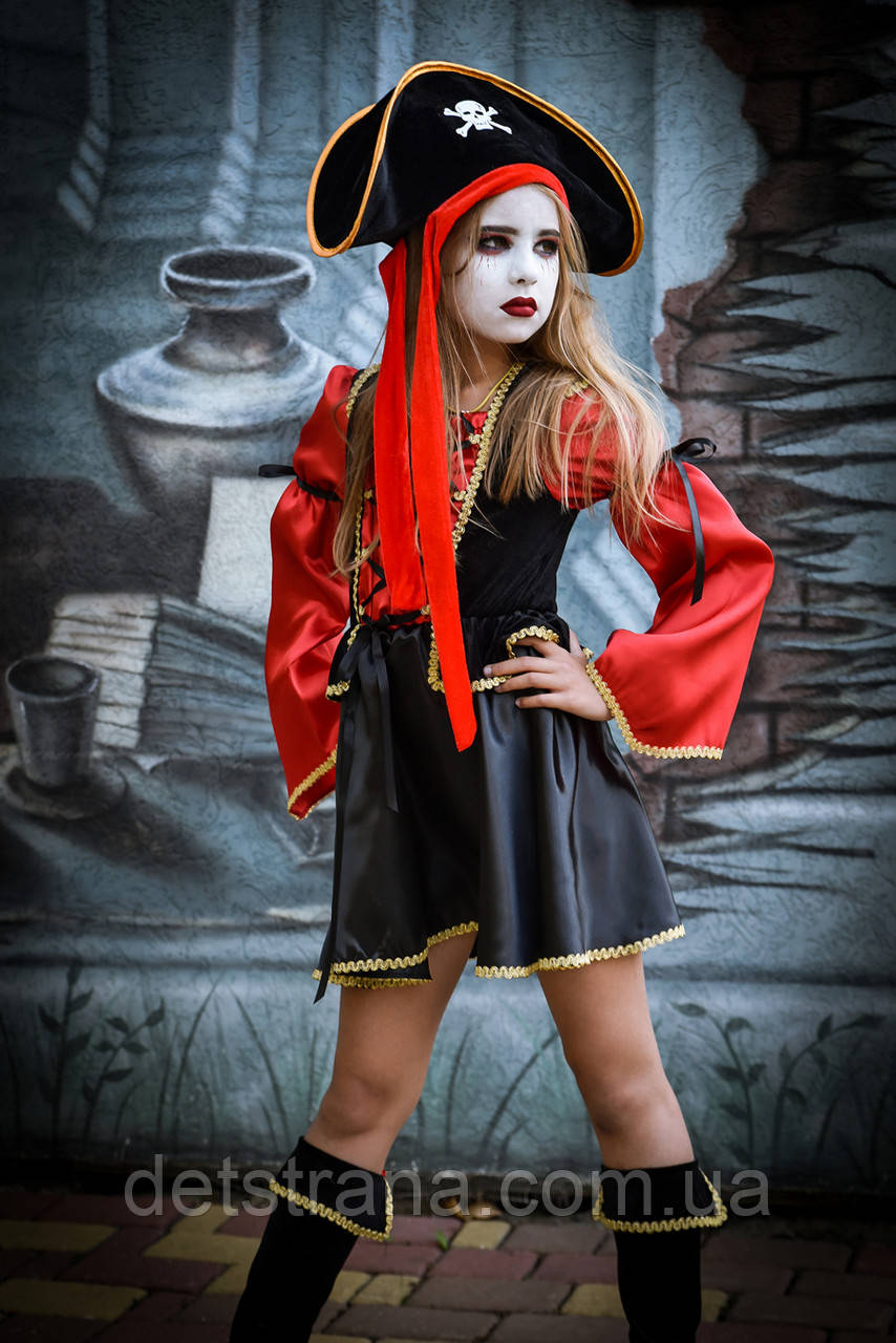 Детский карнавальный костюм Пиратка