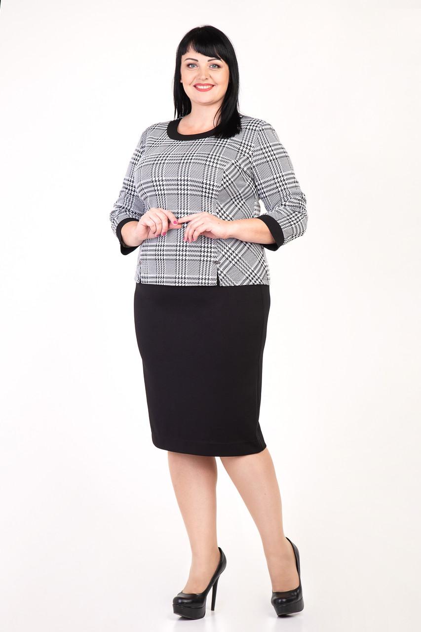 67bce34b7b30cbc Женский костюм делового стиля для пышных форм: продажа, цена в ...
