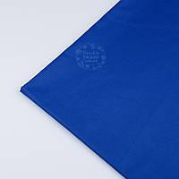 Лоскут ткани №1239а  синего цвета ультрамарин