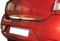 Накладка на кромку багажника Renault Sandero - Stepway 2012+