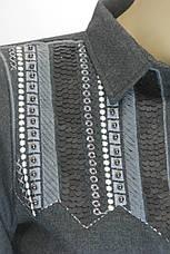 Женская рубашка из фланели с вышивкой, фото 3