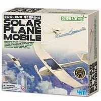 "Набор для творчества ""Самолет на солнечной батарее"", 4M, фото 1"
