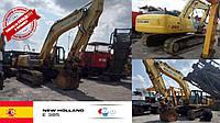 Гусеничный экскаватор NEW HOLLAND E 385 2007 года выпуска с наработкой 5697 м.ч прямиком из солнечной Испании, уже на нашем складе в Черновцах!