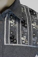 рубашка из фланели с вышивкой, фото 2