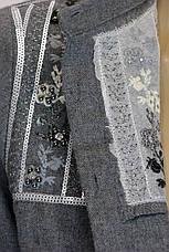 рубашка из фланели с вышивкой, фото 3