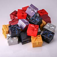 Коробочка подарочная №1-31 для украшений 24шт 5/5/4 см №1-31