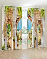 Фотошторы фрески резная арка