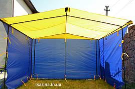 Торговая палатка 1.5х2 2х2 3х2 3х3 4х2 3х4  от 1200гр., фото 3