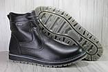 Чоловічі шкіряні чоботи високі великі розміри:46,48, фото 4