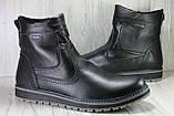 Чоловічі шкіряні чоботи високі великі розміри:46,48, фото 5