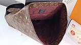 Рюкзак Луи Витон, Macassar, Monogram, кожаная реплика, фото 6