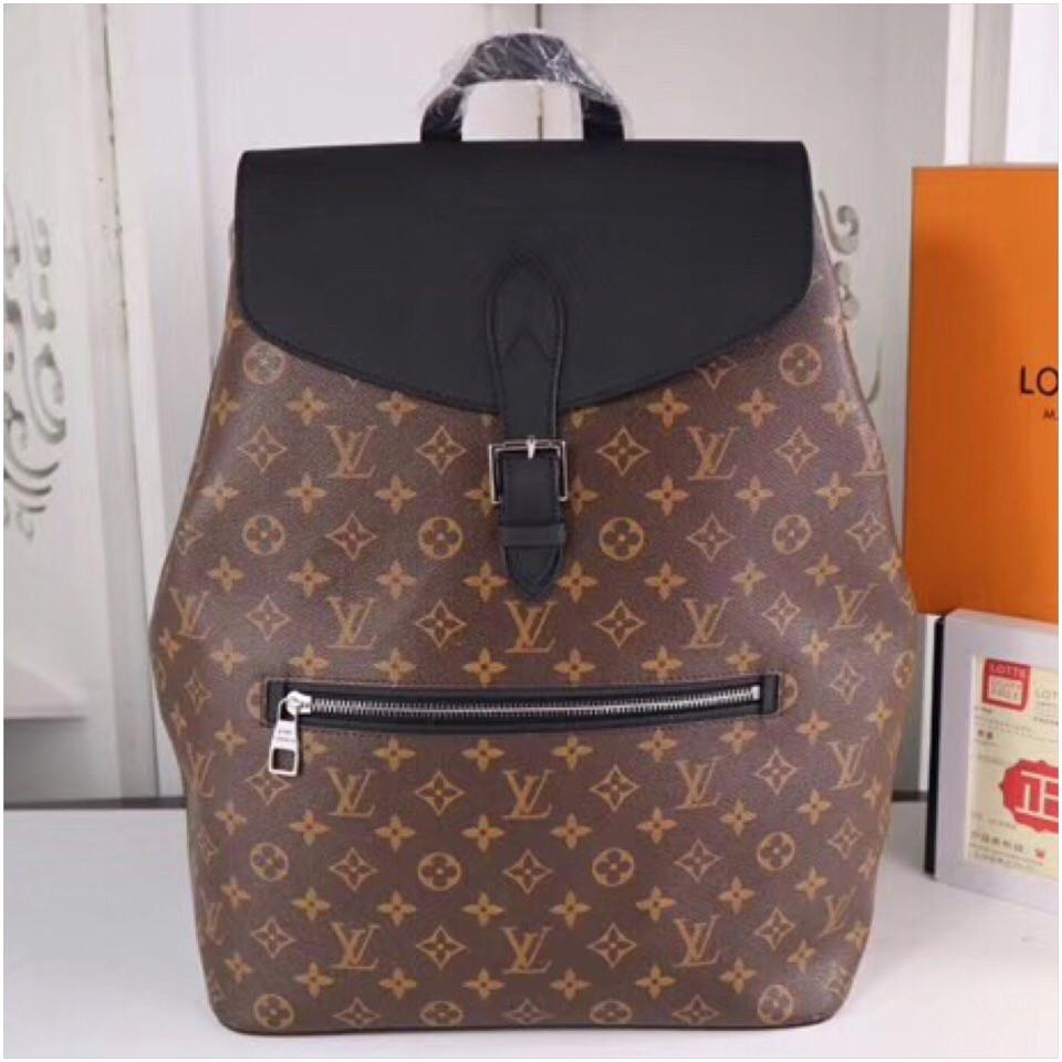 a737d81e831d Рюкзак Луи Витон, Louis Vuitton, Macassar, Monogram, кожаная реплика ...