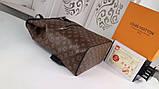 Рюкзак Луи Витон, Macassar, Monogram, кожаная реплика, фото 7