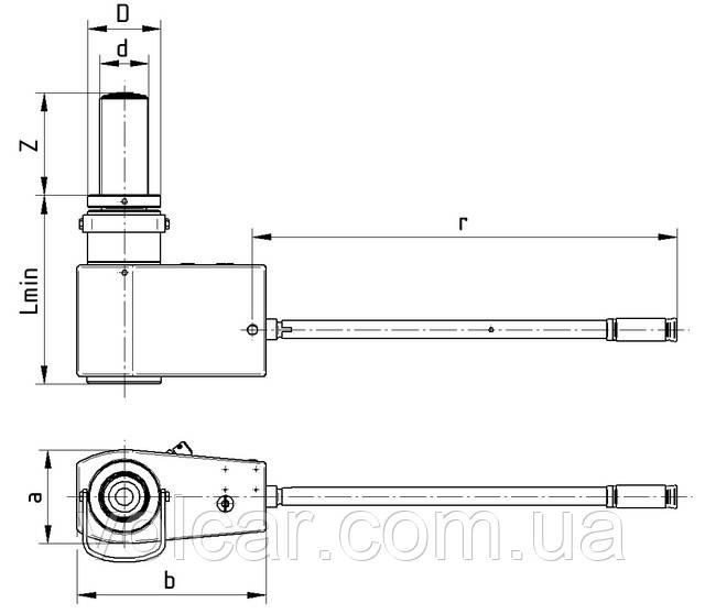 Гидравлический домкрат Brano Z320