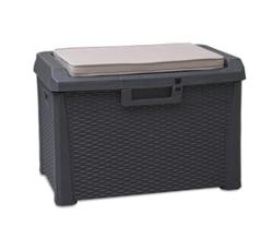 Скриня пластиковий SANTORINI PLUS 125 л з подушкою