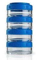 Контейнер спортивный BlenderBottle GoStak 4*40ml Blue (ORIGINAL), фото 1