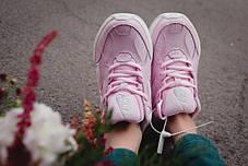 Женские осенние кроссовки Nike M2K Tekno Pink топ реплика, фото 3