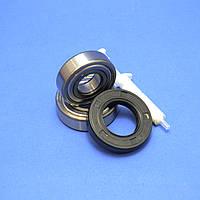 Комплект подшипников и сальник (6204+6205+30х52х10) для стиральной машины Indesit/Ariston