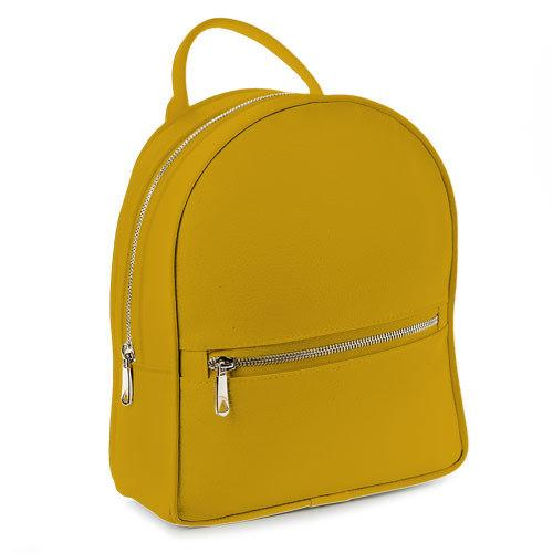 Городской рюкзак желтый 23х30х7 см (ERK1_ZHL)
