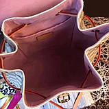 Рюкзак Луї Вітон Montsouris Damier Azur, шкіряна репліка, фото 2