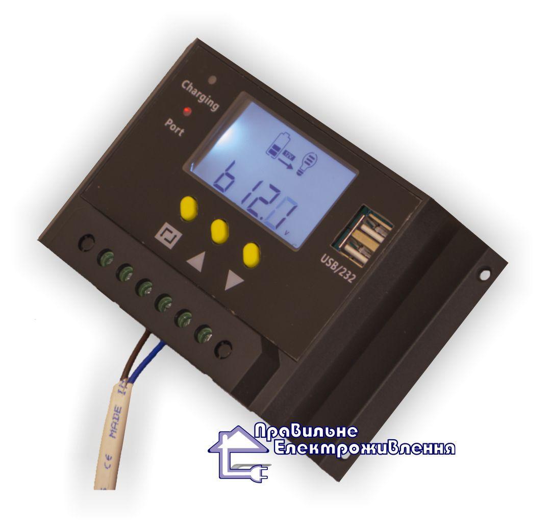 Контролер заряду LMS 2420 20А для сонячних фотомодулів - Правильне електроживлення в Львове