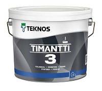 Грунт-краска Timantti 3 Teknos противоплесневая Тимантти, 0.9л.
