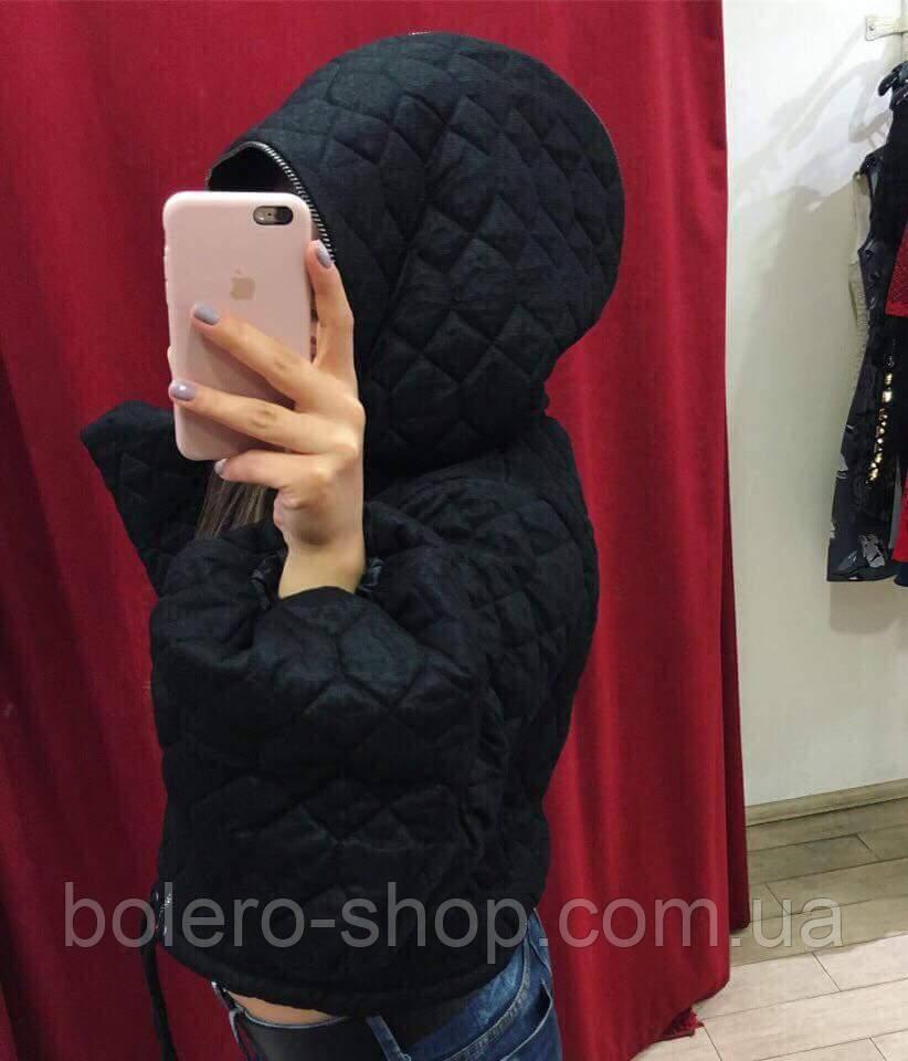 Куртка женская черная Италия