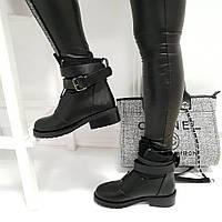 Женские ботинки черные, фото 1