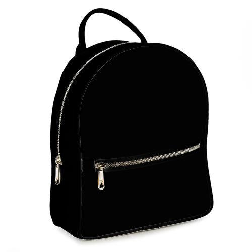 Городской рюкзак черный 23х30х7 см (ERK1_BL)