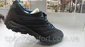 Кроссовки Merrell черные с синим