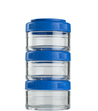 Контейнер спортивный BlenderBottle GoStak 3*60 Blue (ORIGINAL), фото 2