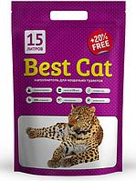 Силикагелевый наполнитель Best Cat Purple Lawender 15 л