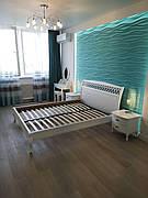 """Кровать Ариэль """"Декор"""" 1,2 м. (изголовье - Н 1000) (цвет белый)"""