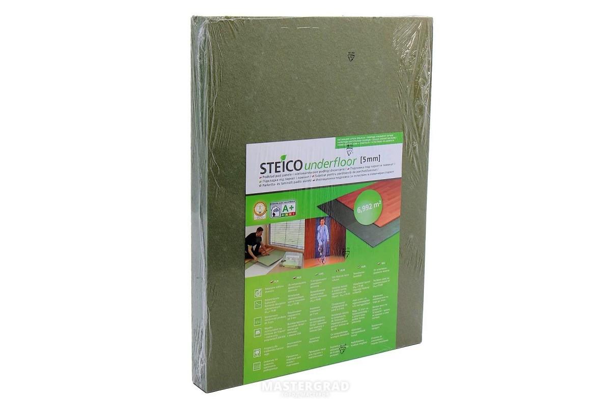 Подложка под ламинат Эко дерево-волокнистая Steico Underwood 5.5 мм