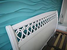 """Кровать Ариэль """"Декор"""" 1,6 м. (изголовье - Н 1000) (цвет белый), фото 3"""