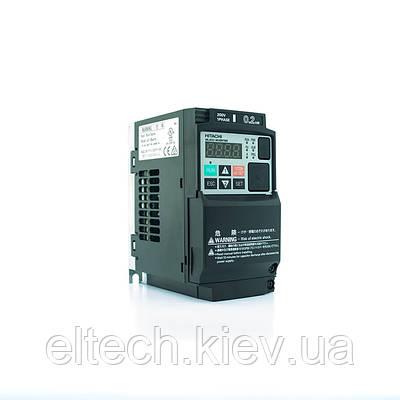 Преобразователь частоты Hitachi WL200-002SFE, 0.2кВт, 220В