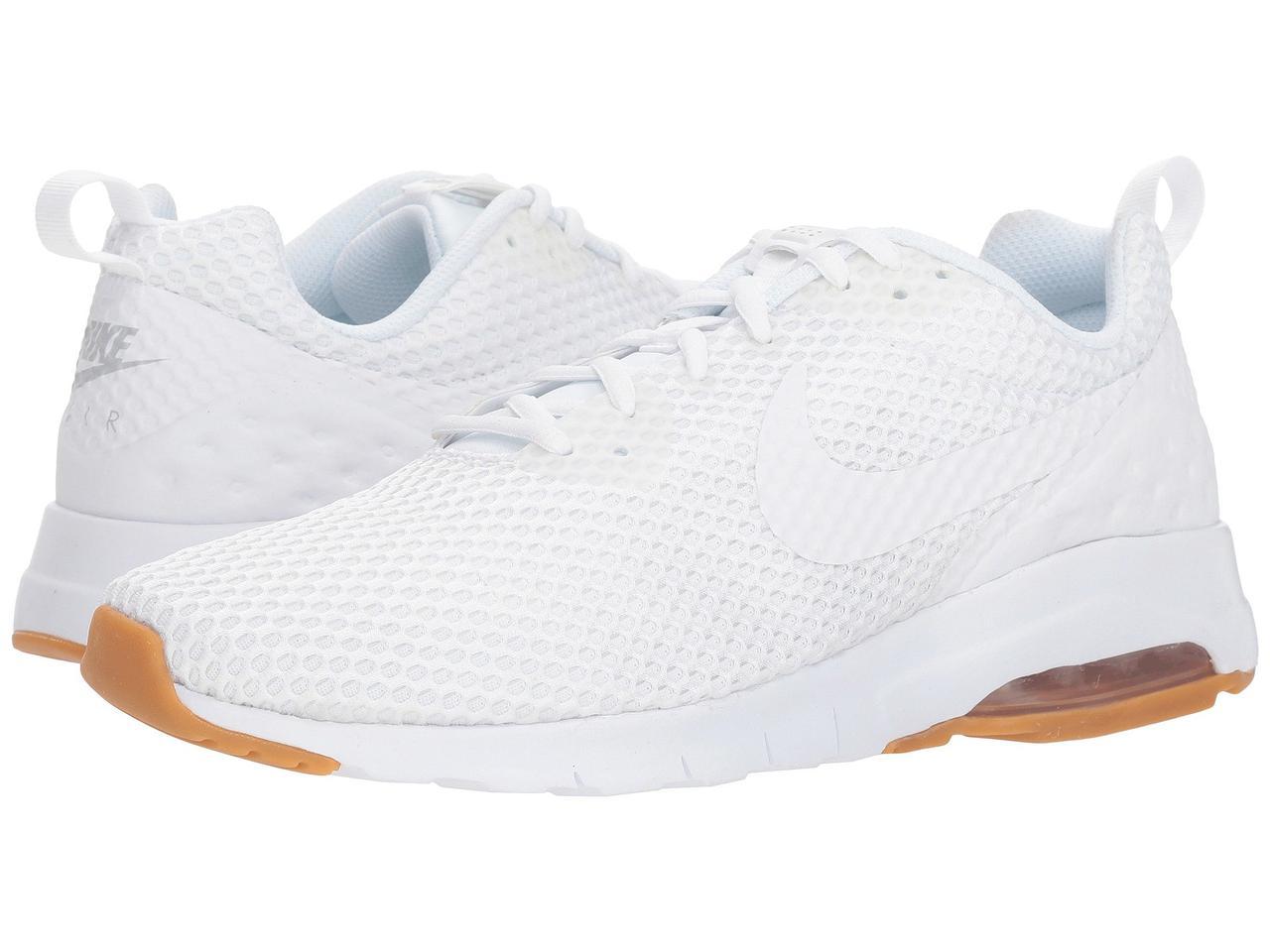 Кроссовки Nike Air Max Motion Low SE White White Wolf Grey Gum Light ... bbd7245299fab