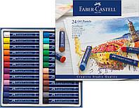 Масляная пастель 24 цвета Faber-Castell Oil Pastels, 127024