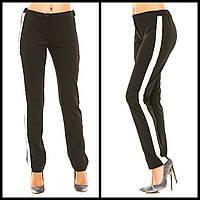 Женские брюки с лампасами по бокам