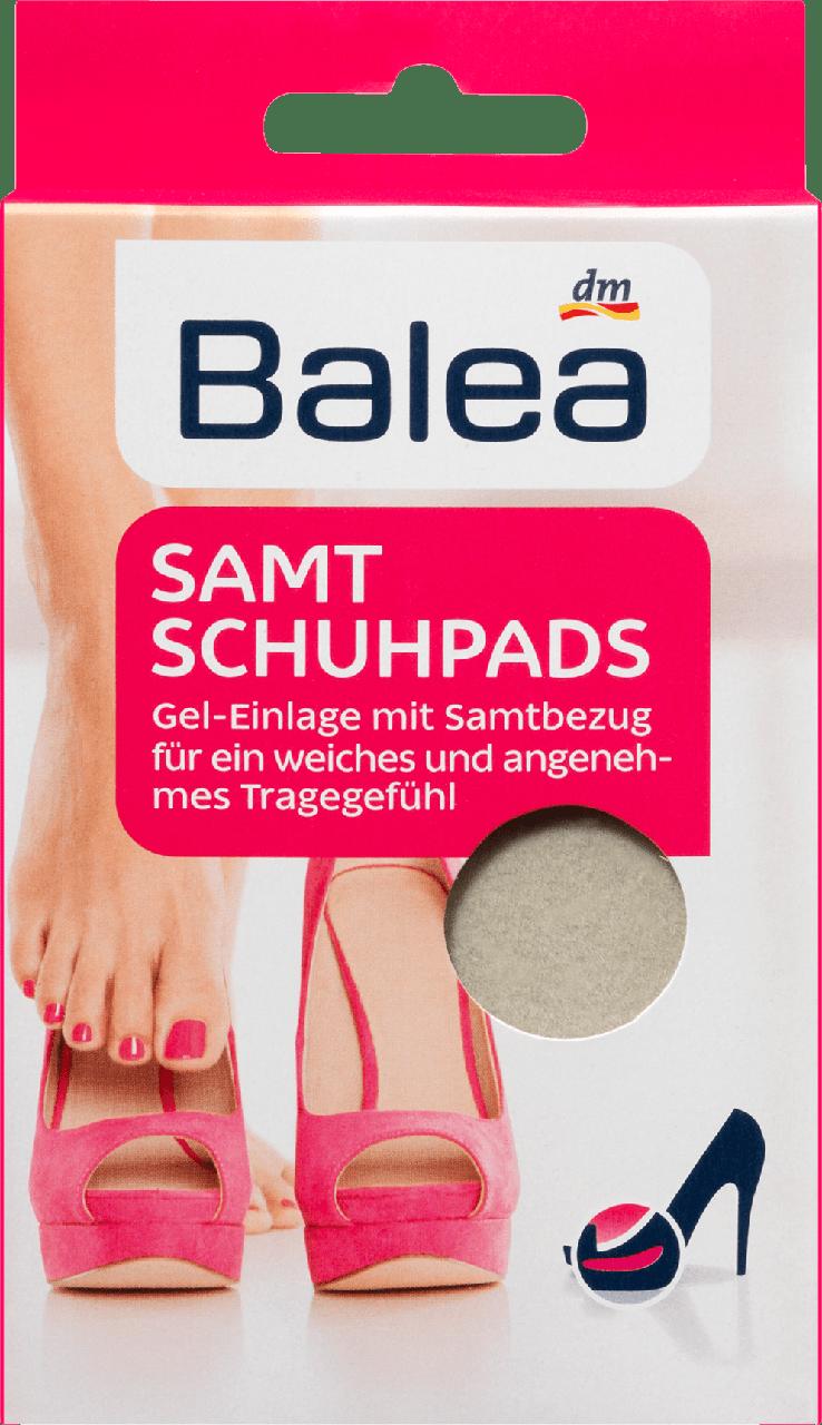 Противоскользящие бархатные подушечки для обуви Balea Samt Schuhpads, 1 пара.