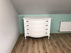 Кровать Ариэль 1,6 м. (изголовье - Н 820) (цвет белый), фото 3