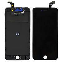 Дисплей для iphone 6S plus с тачскрином черный Оригинал