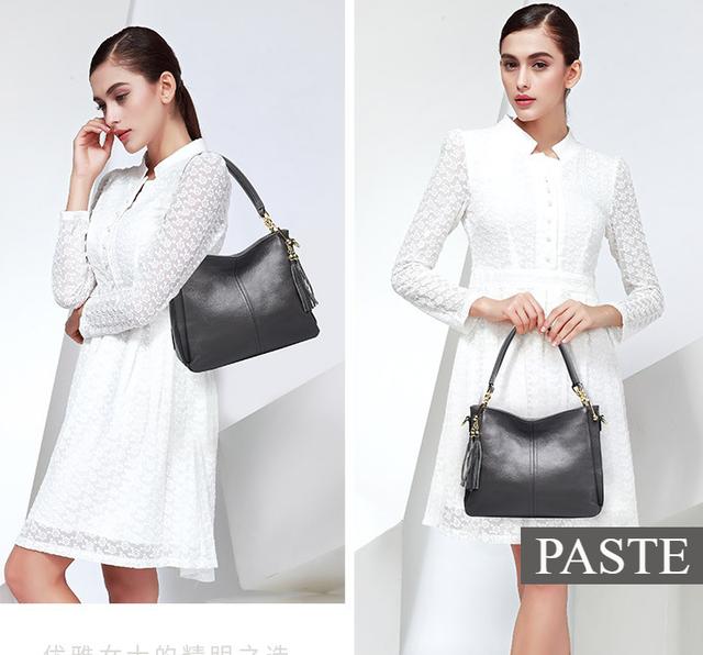 Модная кожаная женская сумочка PASTE