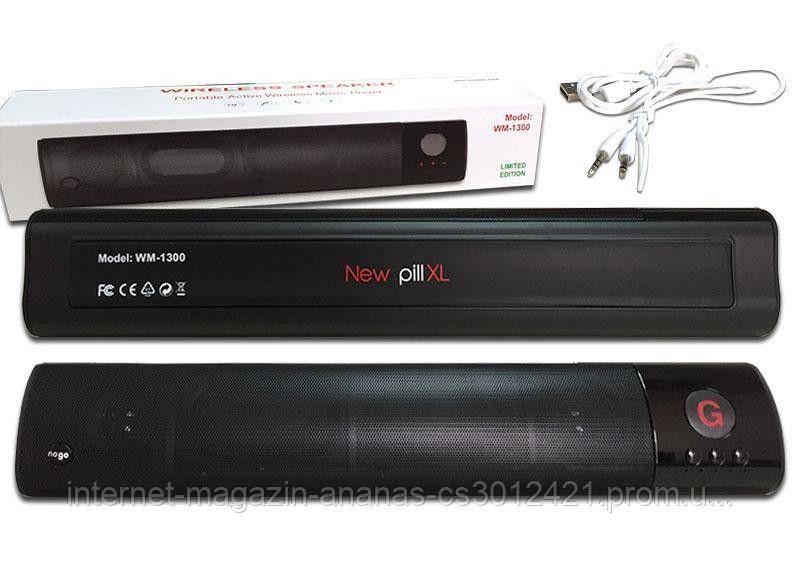 Мини саундбар New XL WM-1300 Универсальная bluetooth колонка