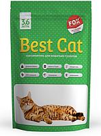 """Силикагелевый наполнитель """"Best Cat"""" Green Apple 3.6 л"""