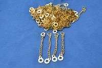 Вешалка-цепочка(золото 8,0см 100шт./уп)