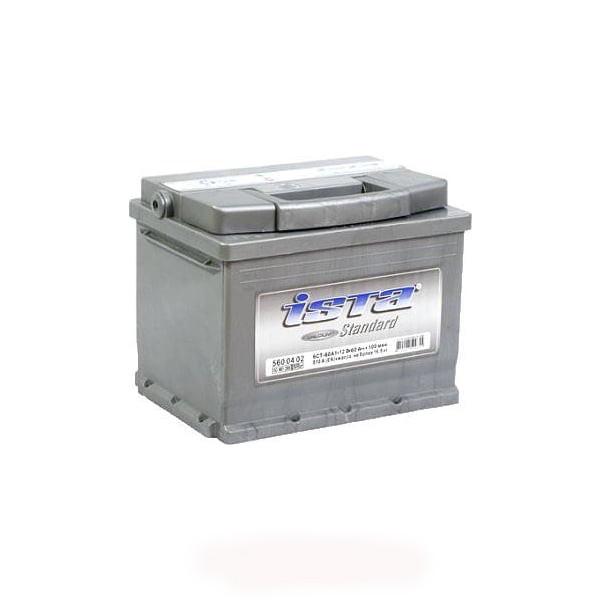 Аккумулятор автомобильный 6СТ-60Ач. 540А. ISTA Standart