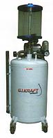 Установка для откачки масла с электронасосом и мерной колбой (80л.)