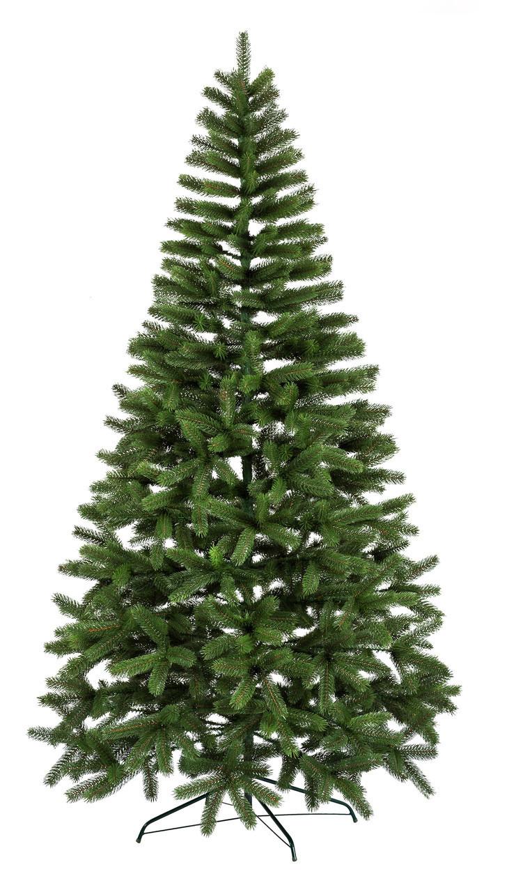 Искусственная елка Литая Буковельская 2,1м Зелёная (SUN2125)
