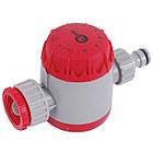 """Таймер для подачи воды с сеточным фильтром, внутренней резьбой на входе 3/4"""", 15; 30; 45; 60; 75; 90; 105; 120 мин, на коннектор 1/2"""", автоматическое, фото 3"""